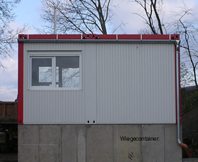 Wiegecontainer